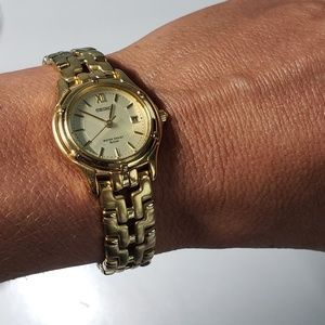 Seiko Accessories - SEIKO Gold Tone Watch w/ Date